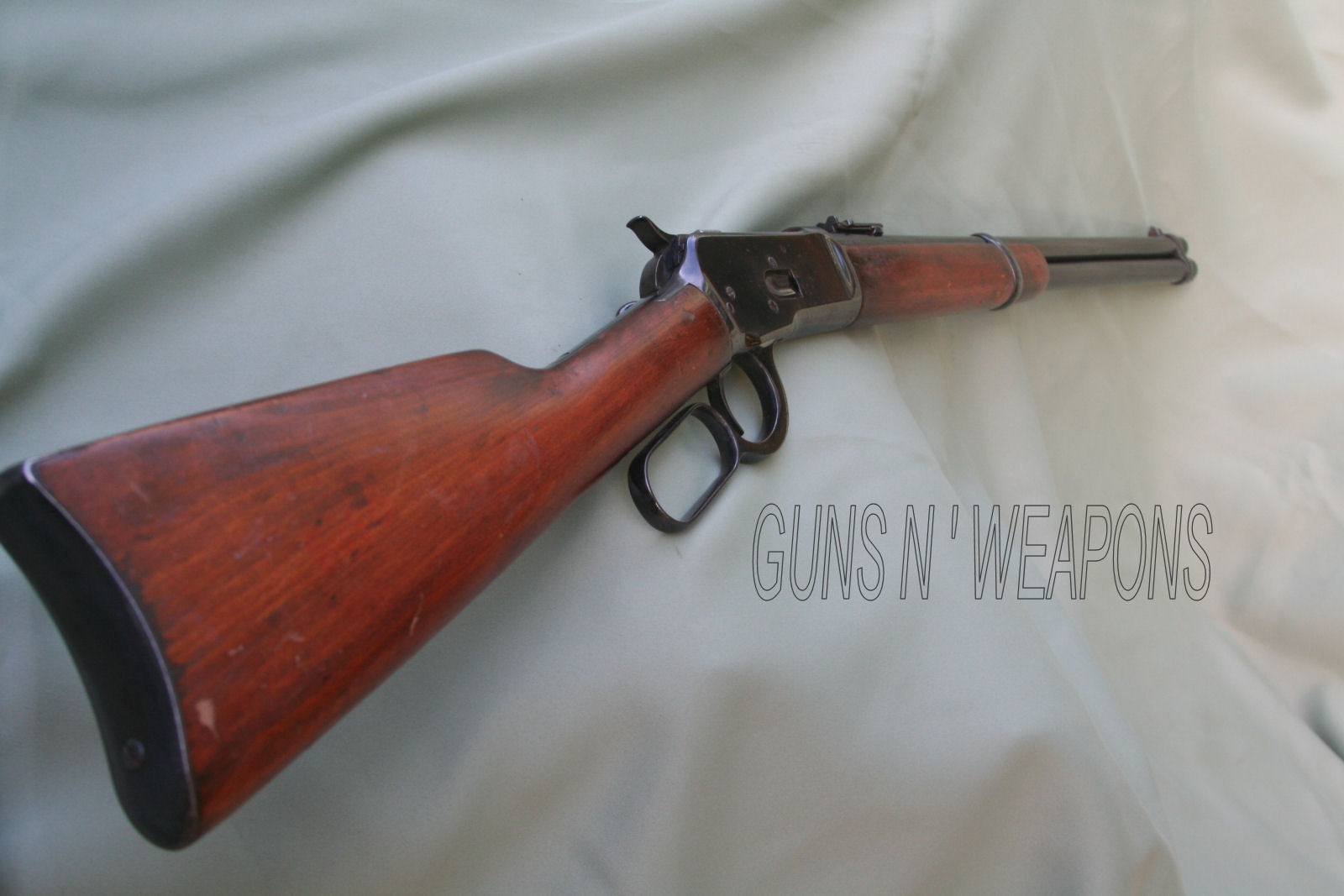 Winchester 1892 44 40 Saddle Ring Carbine For Sale