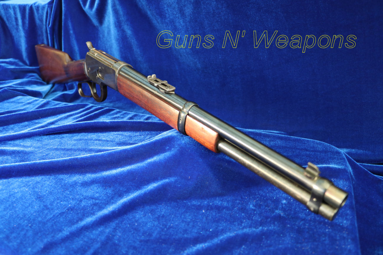 Winchester 1892 44 40 14 Inch Barrel Baby Trapper Saddle